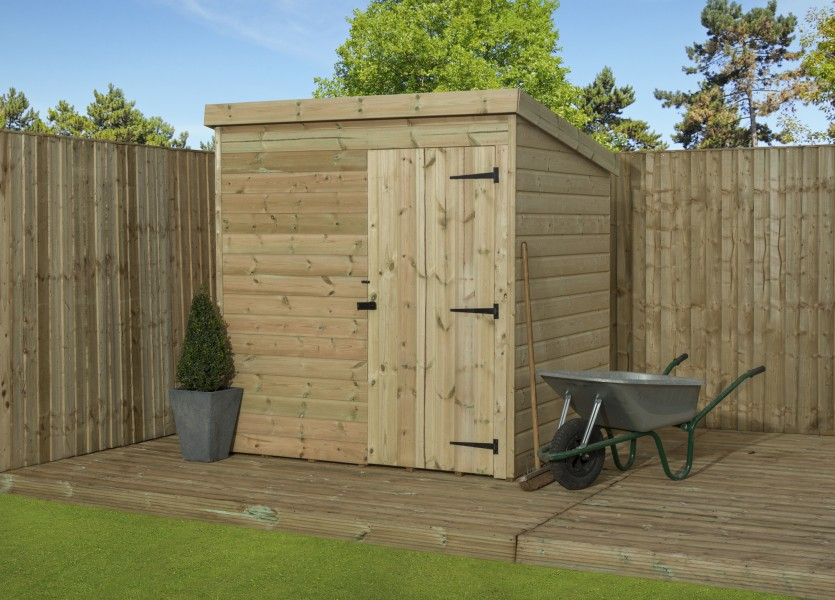 empire 1000 pent shed large