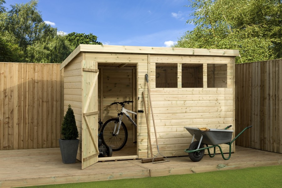 empire 1500 pent garden shed