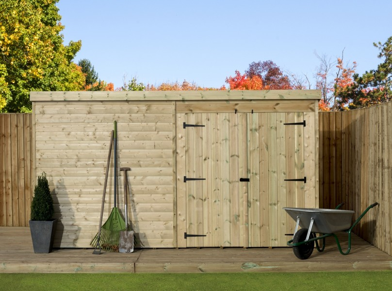 Empire 4000 Pent Garden Shed