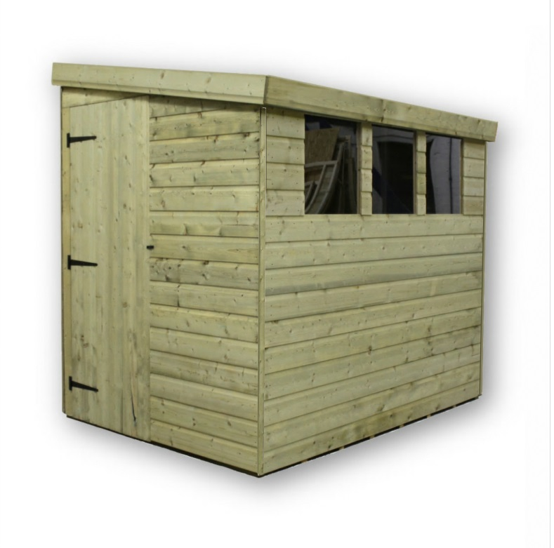 empire 3000 pressure treated shed