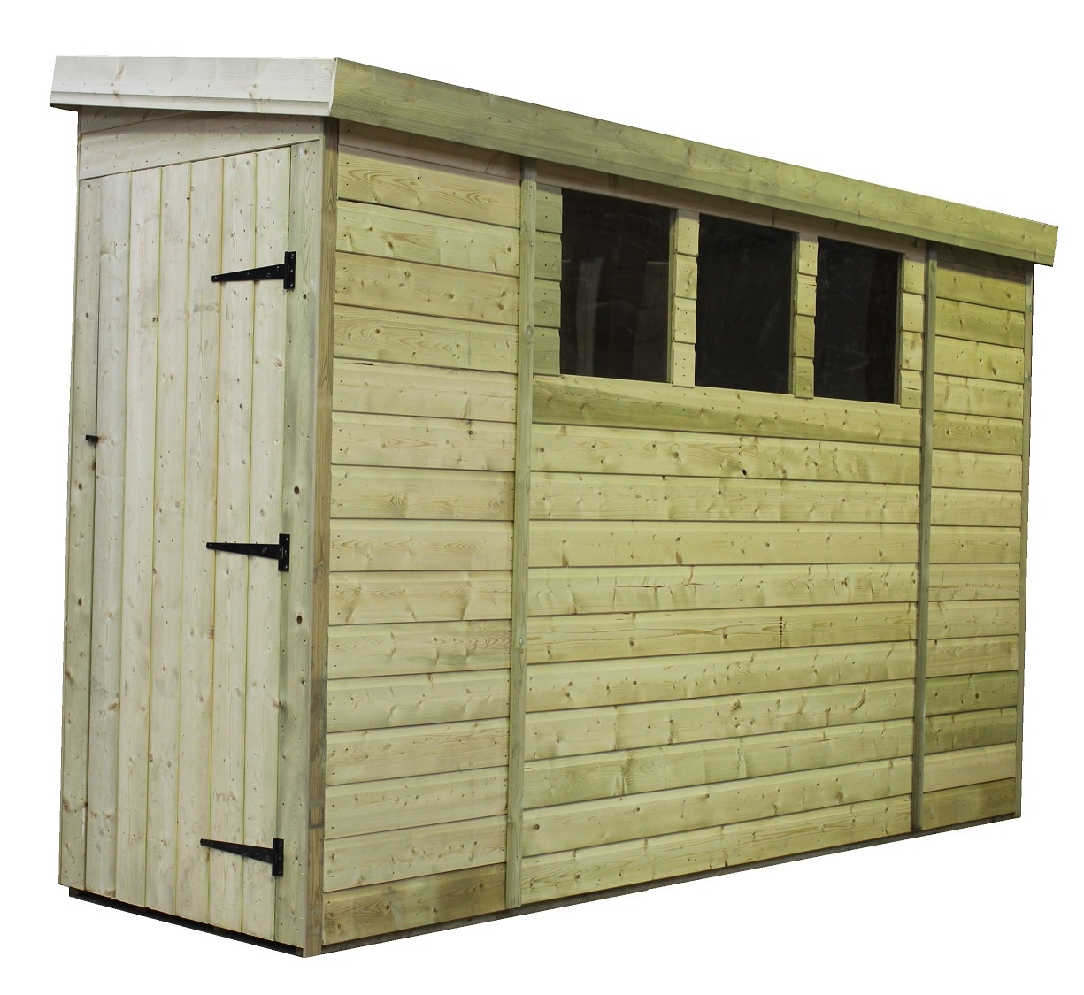 Pent shed tanalised shed