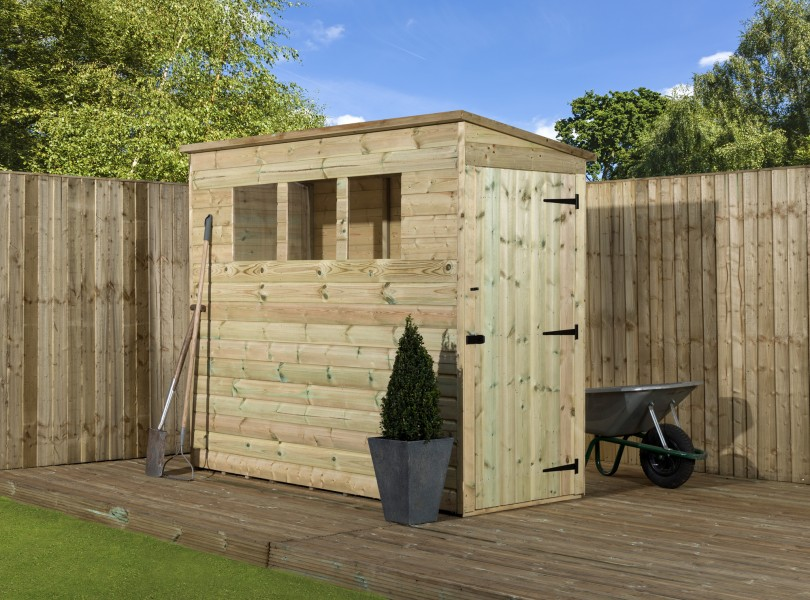 Empire 2600 Pent Garden Shed