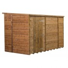 Empire Modular Pressure Treated Pent Garden Shed 10x6