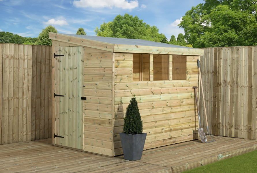 empire 3000 pent garden shed